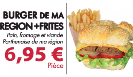 RESTAURATION RAPIDE : BURGER DE MA REGION